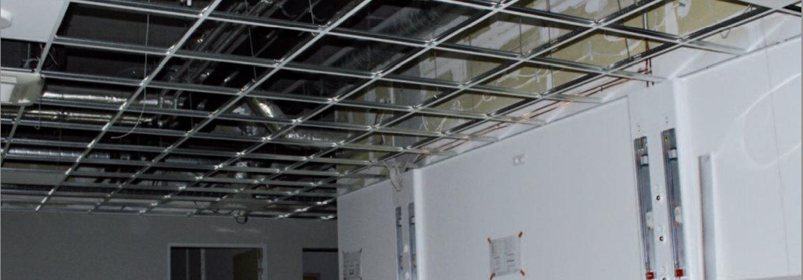 Esperfil sistemas para placa de yeso y techos aparentes - Placas de techo desmontable ...